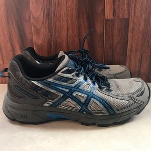 ASICS Men's GEL-Venture 6 Running Shoes Gray/blue